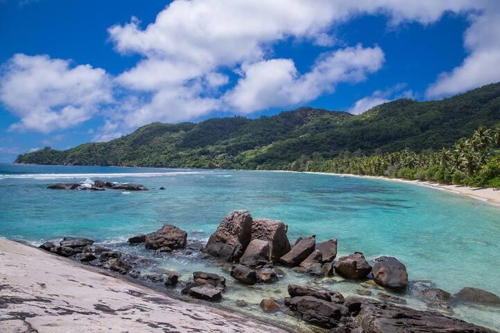 Chalets d' Anse Forbans Beach Bungalow Sleeps 4