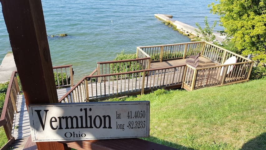 The Terraced Deck, located on the southern shore of Lake Erie