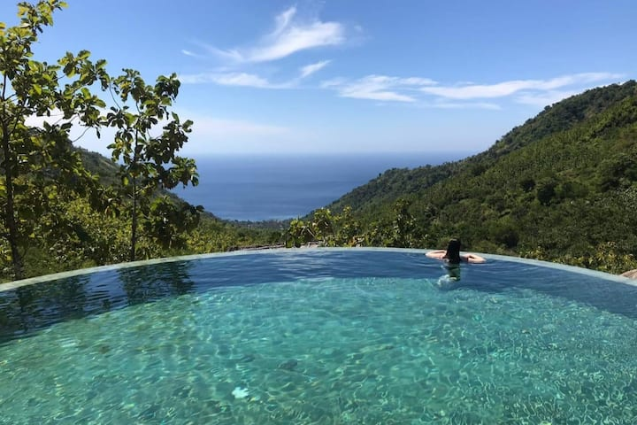 Lodge 5* - Amazing view in Bali- Deluxe Lodge
