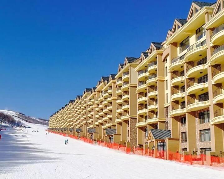 云顶丽苑滑进滑出滑雪房