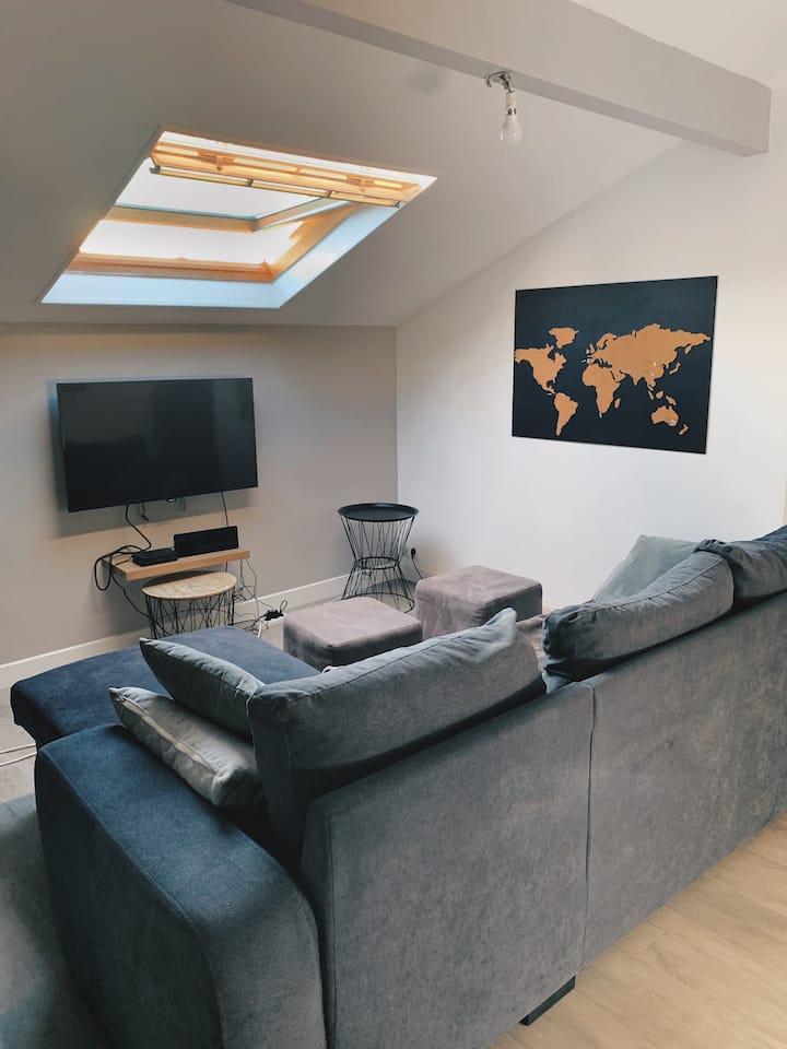 Appartement moderne et lumineux, 68 m2