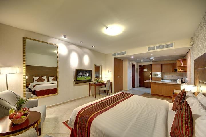 Sweet Residential Studio for rent /Mankhool Dubai.
