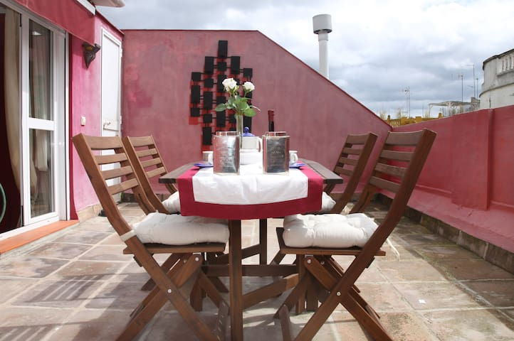Cozy 4pax penthouse with terrace at city center - Córdoba - Apartment