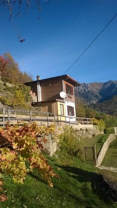 La casetta in autunno