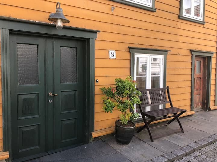 Traditional wooden house in Stavanger