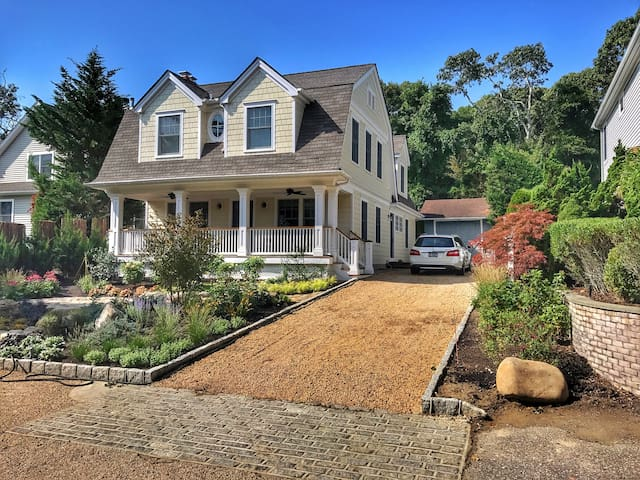 Southampton Town dream home with private beach