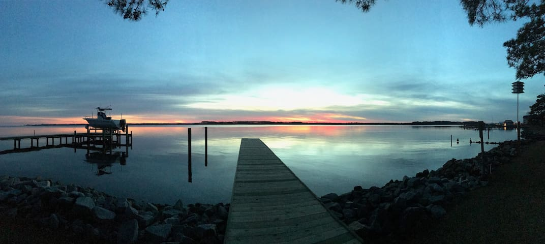 The Sunset House on the Pungo !