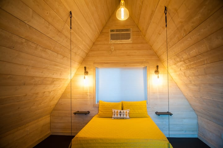 A-frames @ Tiny Town Campground- Boutique Camping