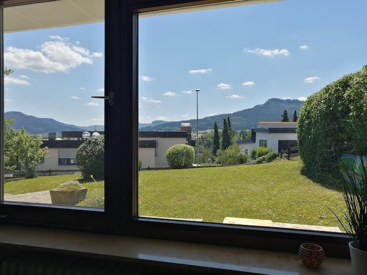 1-Zimmer-Wohnung mit Panorama-Ausblick