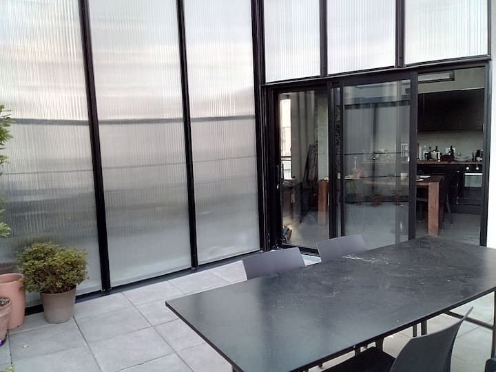 Very bright duplex apartment with terrace