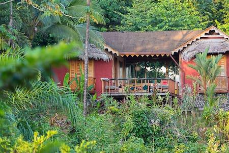 Villa Toucan in the Wildlife Refuge - Punta Uva - Villa
