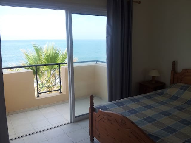 Main bedroom balcony to the sea