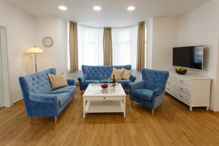 Luxusní Apartmán - dvě odděleny ložnice