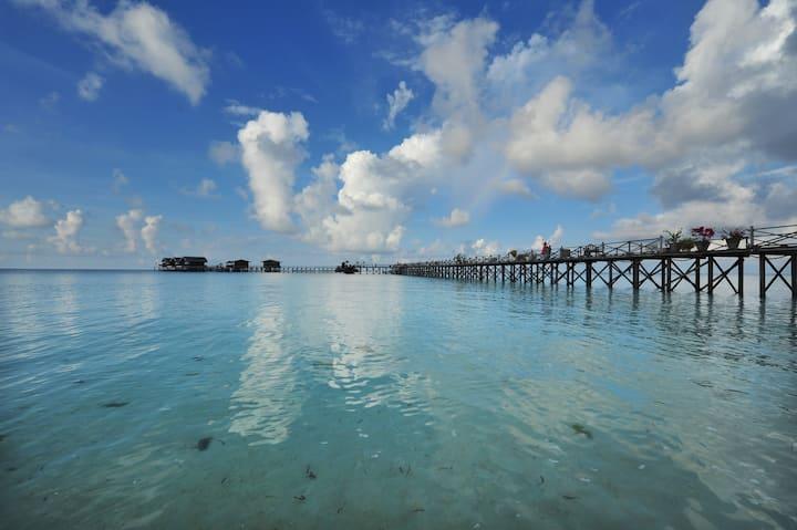 Beach Villa @ Pom Pom Island Resort