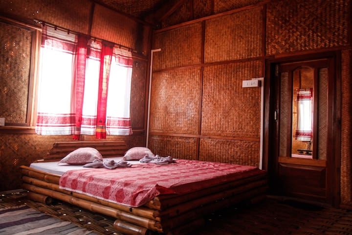 Ethnic Cocoon Bamboo Cottage