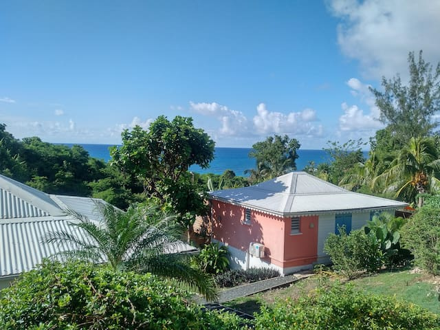 Caribbean Bungalow with a Postcard View