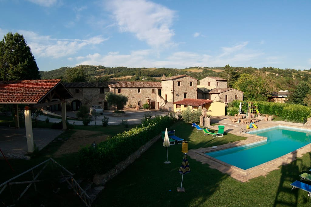 Agriturismo Acquacalda - Panoramic view
