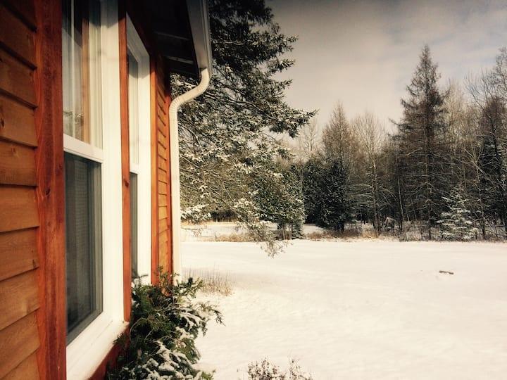 Tranquillité, confort, ski de fond & foyer