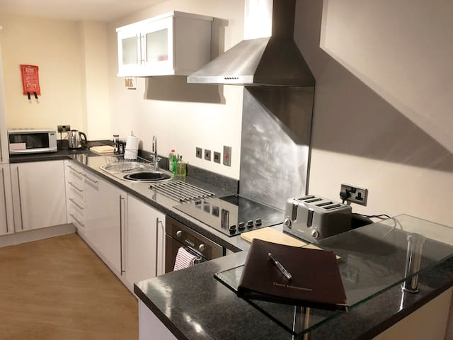 Smart 2 Bed Apartment in Centre of Darlington