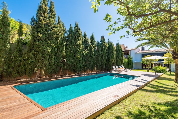 CAN CABRIT - Villa with private pool in Alaró. Free WiFi