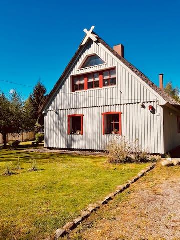 """Haus """"Olsen"""" - Ferienwohnung Divitz-Spoldershagen"""