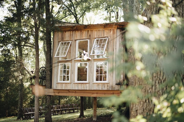 The Fox House: light-filled home in the trees