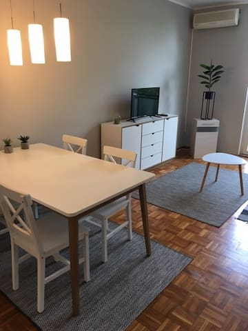 Newly renovated-fully furnished-well located flat