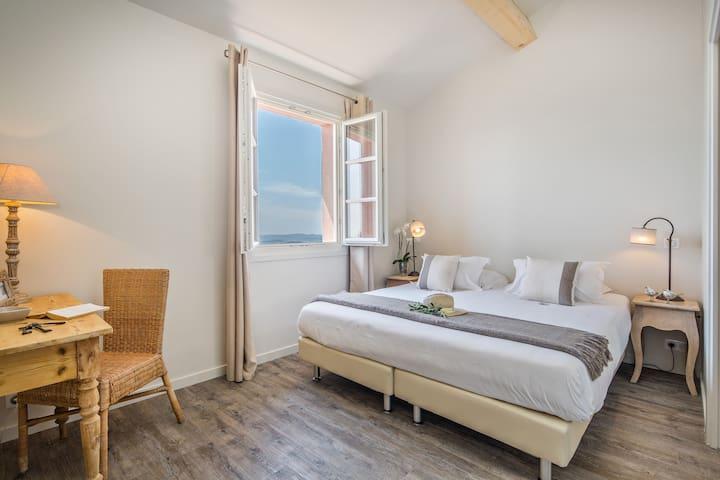 Double room for honeymoon