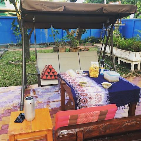 具有泰国风情的木屋别墅,标准双人房 - 清迈 - Villa
