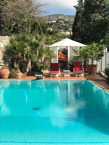 Apartment in villa with pool - Sperlonga - Lägenhet