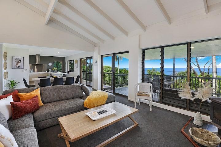Sunshine Coast Escape - Coolum - Amazing Sea Views