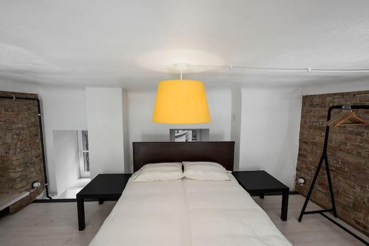 Bedroom loft.