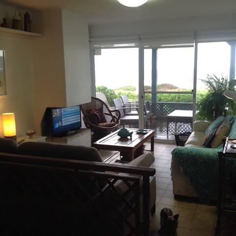 Apartamento frente a playas Montoya y Bikini - La Barra - Daire