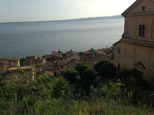 Nido sul lago di Roma