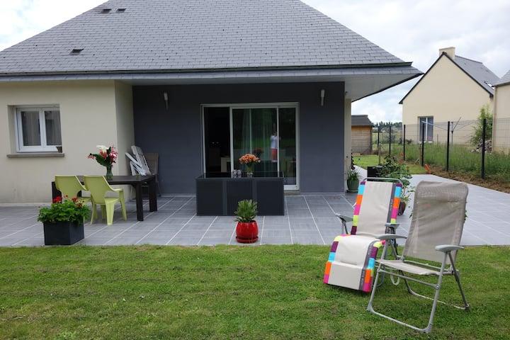 Agréable maison,rdc, entre Rennes, Dinan & St Malo