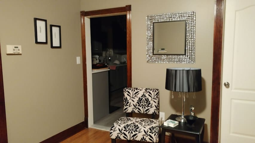 Brantford Bling one level Suite in a heritage home