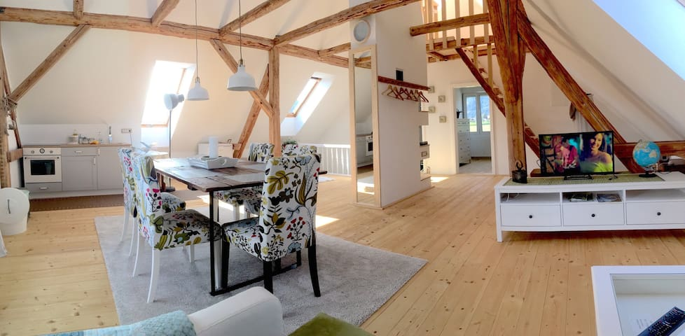 Entire Loft close to Logar valley, 100m2
