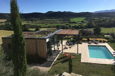 Maison Design + piscine privée. Vue remarquable