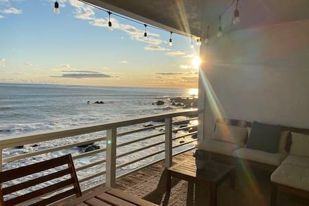 Malibu Beach Condo on the Sand, Ocean View Balcony