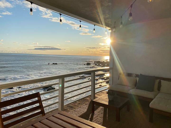 Malibu Beach Condo on the Sand, Ocean View Balcony