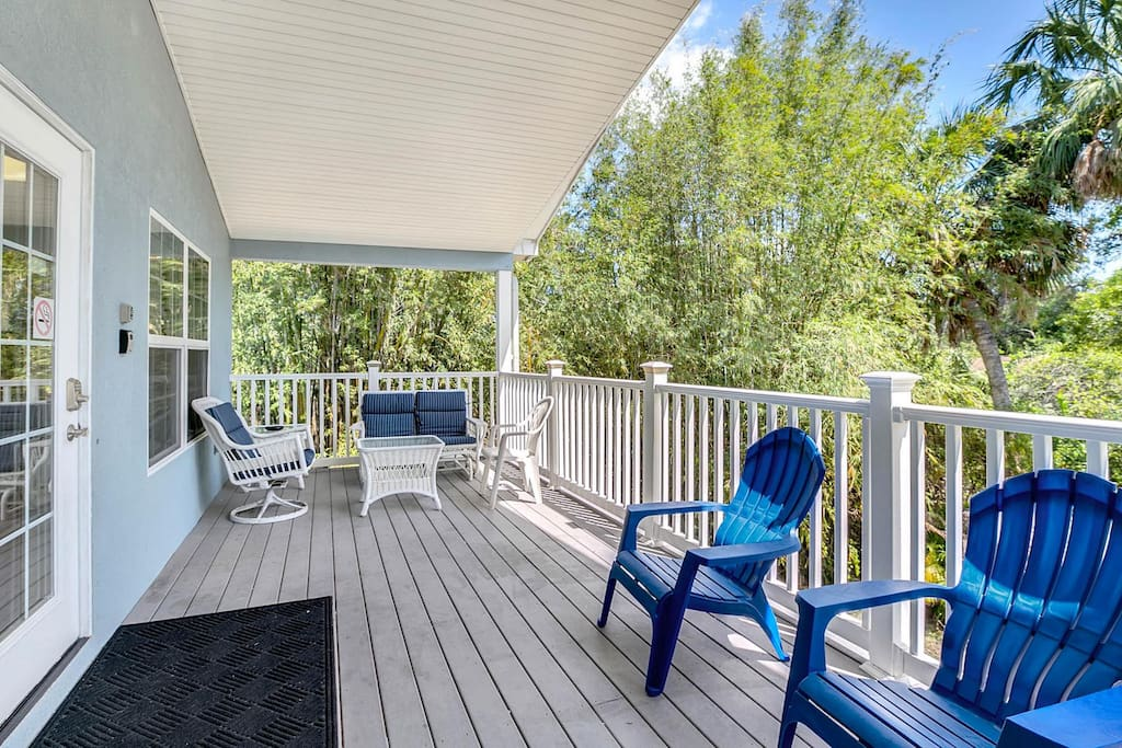 Welcome to Tarpon Springs! Your rental is professionally managed by TurnKey Vacation Rentals.