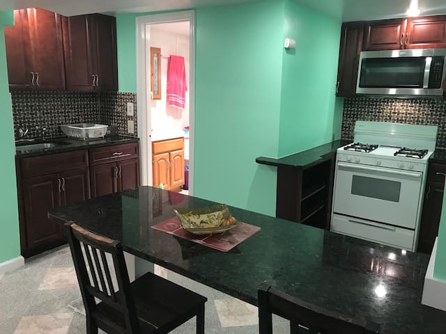 Renovated Entire English Basement 1BR apartment