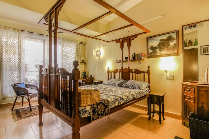Beautiful Estellina Homestay B&B, Caranzalem Beach