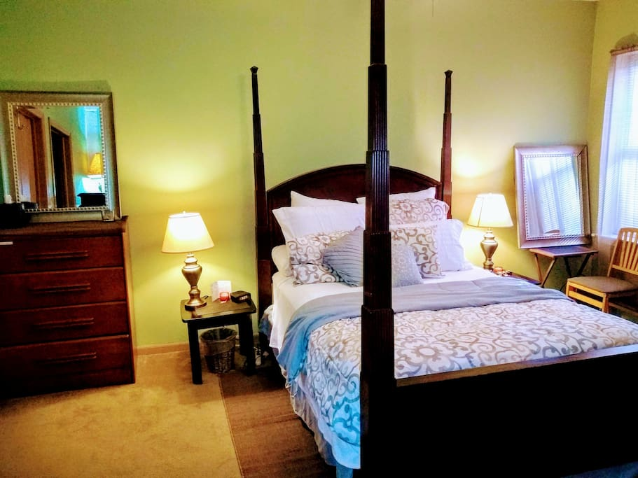 Entry into Master Bedroom Suite