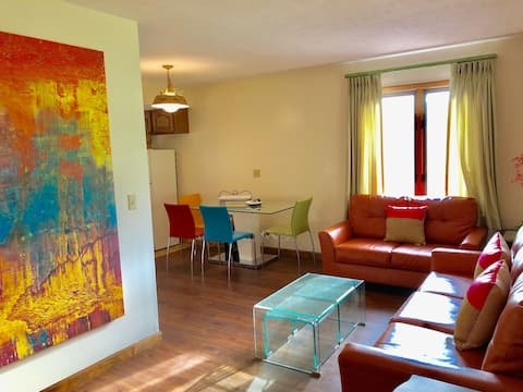 Your own contemporary furnished home