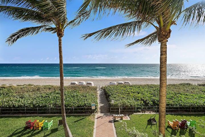 Ocean View Luxury 1 Bed Apt In Palm Beach 105