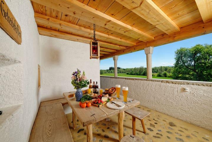 Hagerhof Chiemsee Ferienwohnung Getreidekasten