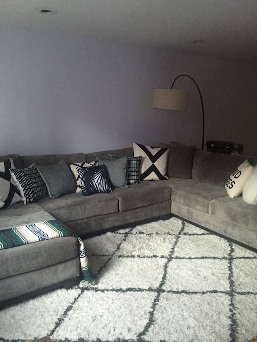 8 person sectional