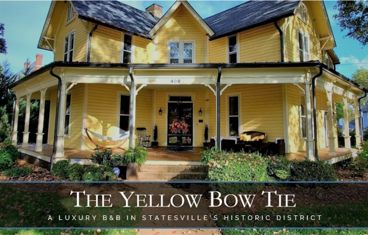 Yellow Bow Tie B&B - Queen Rm 2 - Walk to Downtown