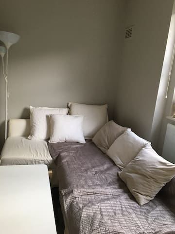 Cosy private studio opposite tube station